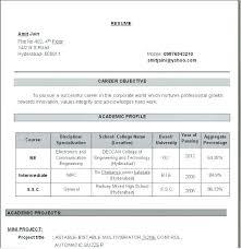 Lecturer Resume Sample Academic