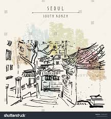 100 South Korean Houses Seoul Korea Asia Traditional