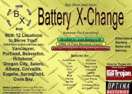 battery exchange in oregon city or 603 7th st oregon city or