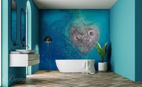 fototapeten für badezimmer badezimmer demur