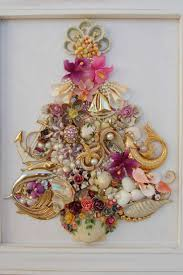 Seashell Christmas Tree Garland by 2142 Best Christmas Tree Images On Pinterest Christmas Ideas