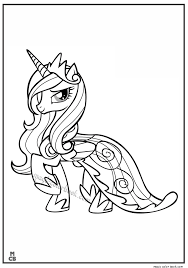 My Little Pony Coloring Pages 39