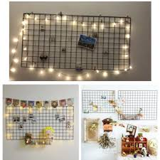 Metal Wire Grid Board Decor Design Craft Others On Carousell