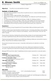 Examples Of Administrative Assistant Resumes Resume Ideas Skills Abilities Example Based Best Templates Skill Sample