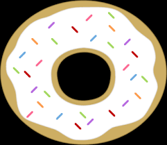 Cute Donut Clipart Kid 3