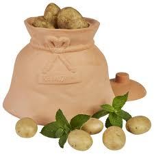 mambocat kartoffeltopf terrakotta vorrats dose deckel aufbewahrung gemüse topf