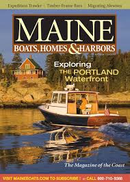 100 Boat Homes Maine S Harbors Magazine AprilMay 2008 By