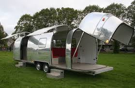 We Also Do Conversions And Brand New Vintage Airstream Style Catering Trailers Touring Caravans