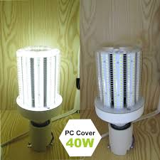 40w led post top retrofit corn light bulbs replacement 150w 175w
