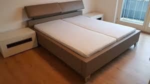 hülsta schlafzimmer bett mit nachtkomoden