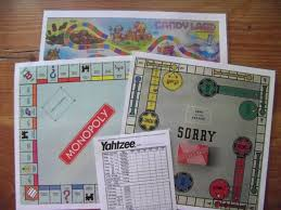 And A Quick Copy Paste From Google Of Your Favorite Board Games I Printed Mine Out Back To Then Lamenated Them For Good Messure