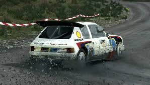 Peugeot 205 T16 Evo 2 480 cv Rally Group B Multiple Cameras