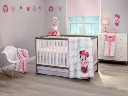 Minnie Mouse Bed Decor by Minnie Mouse Polkadots Premier 4 Piece Crib Bedding Set Disney Baby