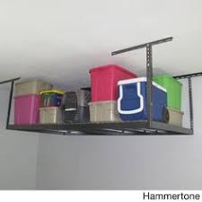 newage versarac overhead storage rack red overhead storage