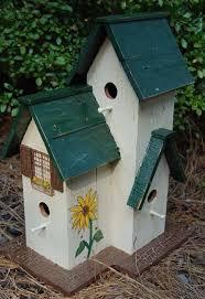 Large Victorian Birdhouse 6999 Via Etsy