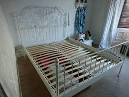 leirvik bed frame ikea king size leirvik bed frame for sale in gateshead tyne and