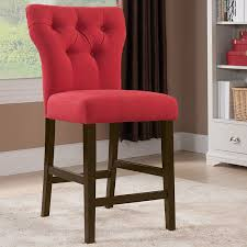 Acme 71525 Effie Counter Dining Chair In Tufted Red Linen & Walnut ... Ander Walnut Taper Back Red Upholstered Ding Chair Country House Fniture Set Of 2 Linblend Abbie World Market Striped Chairs New Homelegance Royal Design Custom Nailhead Tufted For Sale At 1stdibs 7 Modern Homes Cute White Leather Room Black Fabric Red Upholstered Ding Chairs For Really Encourage Iaffdistrict14org Amazoncom Hook Serena Solidwood Fine With 50 Off Velvet Round Glass Kitchen Table Ivory Faux