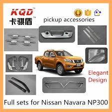 China Full Sets Chrome Accessories For Pick Up Truck Nissan Np 300 ...