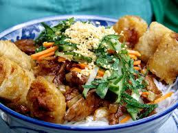 hervé cuisine chinois recette du bo bun nems vietnamien