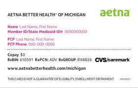 mdhhs aetna better health of michigan medicaid pharmacy information