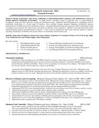 Manufacturing Controller Resume Examples