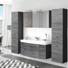 badezimmer waschplatz set 4 tlg mit 120cm waschtisch spiegelschrank