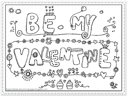 Free Coloring Pages Valentines Inspirational Printable Valentine For Seasonal Colouring With