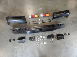 Suzuki Samurai Defiant Armor Rear Bumper By Low Range Off-Road (SRB ...