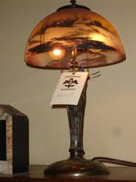 Ebay Antique Table Lamps by 39 Best Reverse Painted Lamps Images On Pinterest Painted Lamp