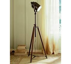 surveyors spotlight floor l decor awesome tripod l for interior lighting ideas