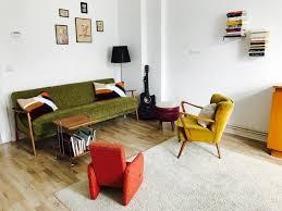 wohnzimmermöbel im stil der 70er jahre sind wieder sehr im