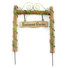 Enchanted Garden Archway Miniature Fairy
