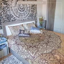 bedroom very beautiful colors with bohemian duvet iahrapd2016 info