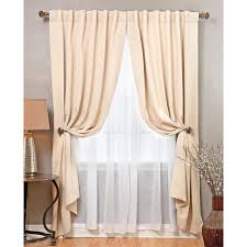 Searsca Sheer Curtains design your window with this elegant and functional sheer curtain