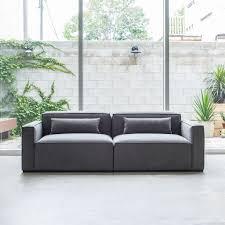 Sofa Bed Bar Shield by Mix Modular Sofa 2 Pc Sofas Gus Modern