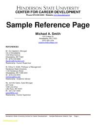 Resume Template References Ford Now Examples Reference Page Of Resumes