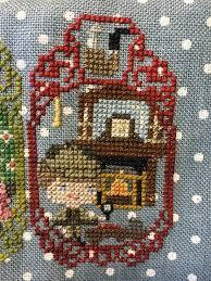 Frosted Pumpkin Stitchery Kit by Story Time Sampler Stories Coffee Stitcher U0027s Stitchy Blog Of