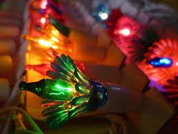 Vintage Christmas Tree Light String Multi Colored Bulbs And Flower Jpg 1067x800 Old Lights Reflectors