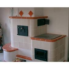 poêle en faïence la cheminée typiquement