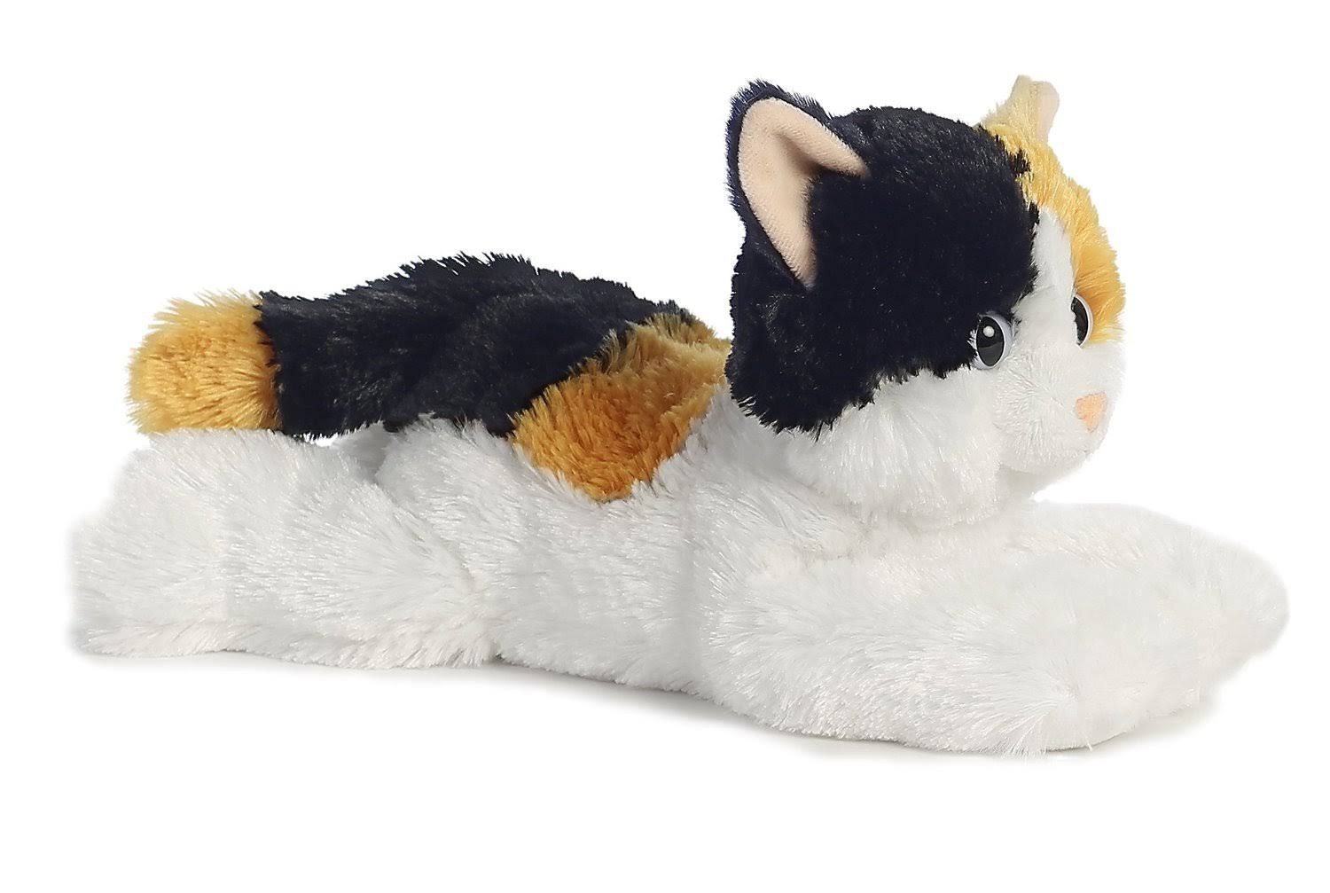 Aurora World Flopsie Cat Plush Soft Toy - 12""