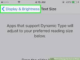 How to Change the Font on iPhone with wikiHow