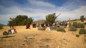 Pumpkin Patch Victorville Ca by Fbi Investigating Reports Of 17 Men Chanting Firing Off Shots In