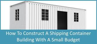 104 Building A Home From A Shipping Container Money Saving Tips For S Discover S