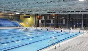 Photograph Of The Swimming Pool At Cardiff International