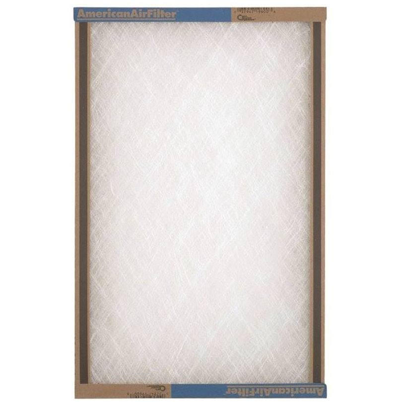"American Air Filter Strata Density Fiberglass Air Filter - 20"" x 24"" x 1"", Set of 12"