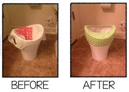 Bathroom Wastebasket With Lid by 5 Common Objections To Using Small Trash Bags Plastic Place Blog