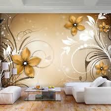 details zu vlies fototapete blumen ornament 3d effekt tapete wandbilder wohnzimmer 3far
