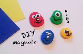 diy comment faire des magnets avec de la pâte fimo