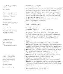 Dentist Resume Resumes General Samples