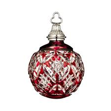 Amazoncom Waterford Annual Red Cased Ball Crystal Christmas